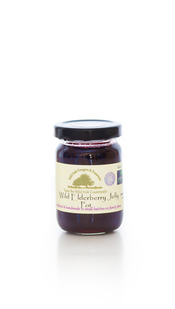 Wild Elderberry Jelly Pot
