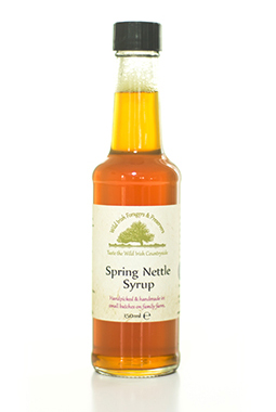 Spring Nettle Syrup
